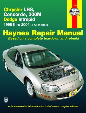 Chrysler LHS, Concorde, 300M & Dodge Intrepid (98-04) Haynes Repair Manual