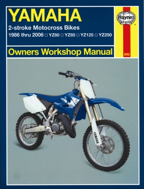 Yamaha 2-Stroke YZ80, YZ85, YZ125 & YZ250 (86-06) Haynes Repair Manual