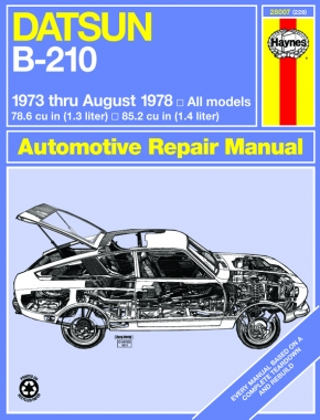Datsun B-210 (73-78) Haynes Repair Manual