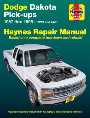 Dodge Dakota Pick-up (87-96) Haynes Repair Manual