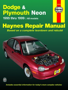 Dodge & Plymouth Neon (95-99) Haynes Repair Manual