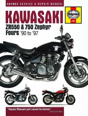 Kawasaki ZR550 & 750 Zephyr Fours (90-93) Haynes Repair Manual