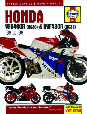 Honda VFR400R (NC30) & RVF400R (NC35) (89-98) Haynes Repair Manual