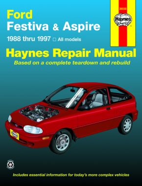 Ford Festiva (88-93) & Ford Aspire (94-97) Haynes Repair Manual