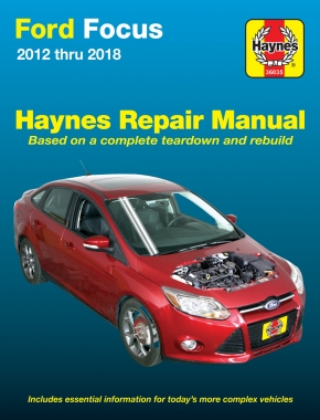 Ford Focus (12-18) Haynes Repair Manual