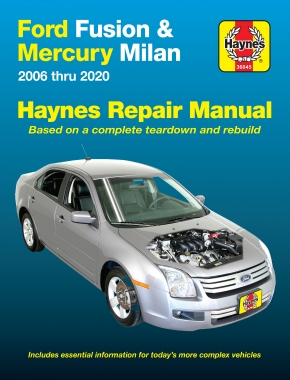 Ford Fusion & Mercury Milan (06-20) Haynes Repair Manual