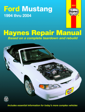 Ford Mustang (94-04) Haynes Repair Manual