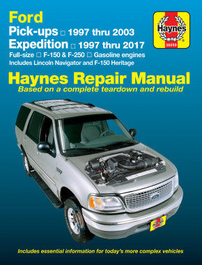 ford pick ups expedition lincoln navigator covering 2wd 4wd gas rh haynes com 1997 ford f150 repair manual free 97 ford f150 repair manual pdf