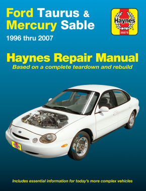 Ford Taurus & Mercury Sable (96-07) Haynes Repair Manual