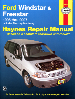 Ford Windstar (95-03) & Freestar & Mercury Monterey (04-07) Haynes Repair Manual