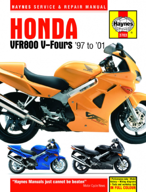 Honda VFR800 V-Fours (97-01) Haynes Repair Manual
