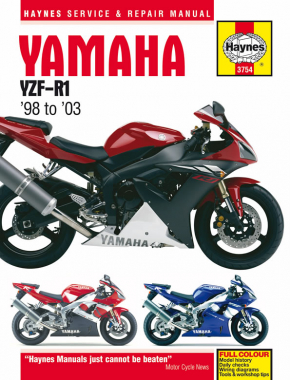 Yamaha YZF-R1 (98-03) Haynes Repair Manual (YZF1000R Thunderance is covered in manual #3720)