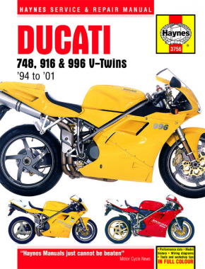 Ducati 748, 916 & 996 V-Twins (94-01) Haynes Repair Manual