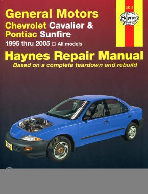 Chevrolet Cavalier and Pontiac Sunfire 1995 thru 2005 Haynes Repair Manual