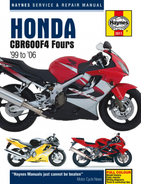 Honda CBR600F4 Fours (99-06) Haynes Repair Manual