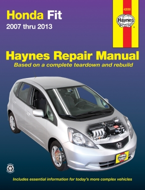 Honda Fit (07-13) Haynes Repair Manual