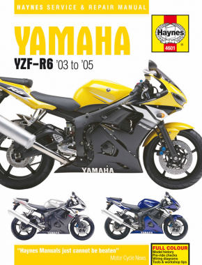 yamaha yzf r6 2003 2005 haynes repair manual haynes manuals rh haynes com 2003 yamaha r6 service manual free download yamaha r6 2003 manual pdf