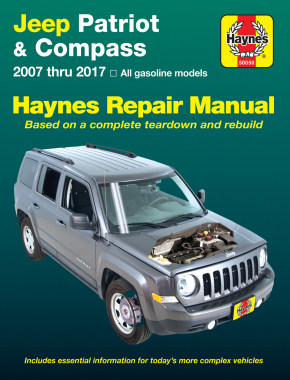 jeep patriot compass 07 17 haynes repair manual haynes manuals rh haynes com Jeep Repairs Do It Yourself Jeep Repair Guide