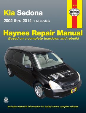 Kia Sedona (02-14) Haynes Repair Manual