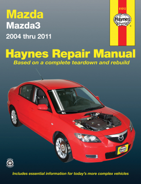 mazda3 04 11 haynes repair manual haynes manuals rh haynes com Mazda 3 Manual Transmission mazda 3 2009 owners manual