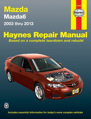 Mazda6 (03-13) Haynes Repair Manual