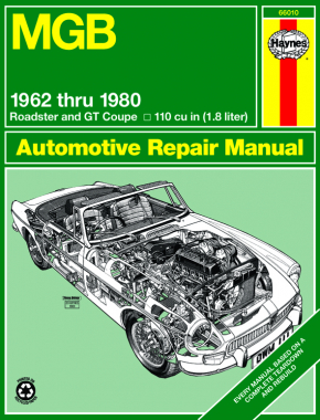 MGB (62-80) Roadster & GT Coupe Haynes Repair Manual