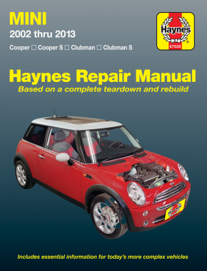 Mini Cooper, Cooper S, Clubman & Clubman S (02-13) Haynes Repair Manual
