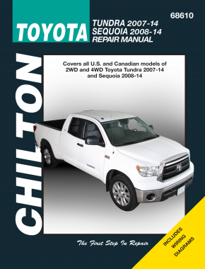 Toyota Tundra (2007-14) & Sequoia (2008-14) for Chilton Repair Manual (USA)