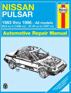 Nissan Pulsar (83-86) Haynes Repair Manual