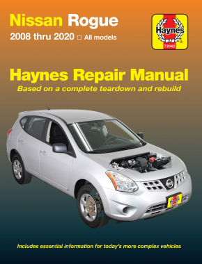 Nissan Rogue (08-20) Haynes Repair Manual
