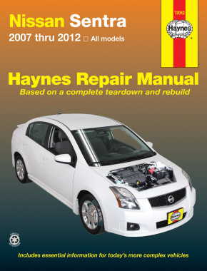 Nissan Sentra (07-12) Haynes Repair Manual