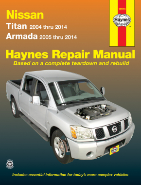 Nissan Titan (04-14) & Armada (05-14) Haynes Repair Manual