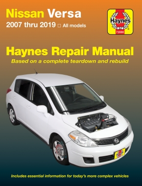 Nissan Versa (07-19) Haynes Repair Manual