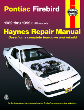 pontiac firebird 82 92 haynes repair manual haynes manuals rh haynes com