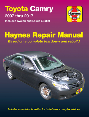 Toyota Camry & Avalon & Lexus ES 350 (07-17) Haynes Repair Manual