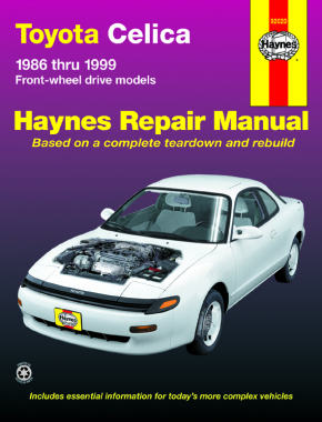 Toyota Celica FWD (86-99) Haynes Repair Manual