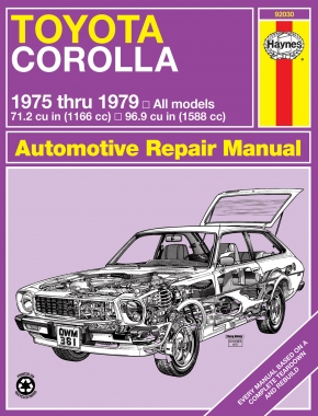 Toyota Corolla (75-79) Haynes Repair Manual