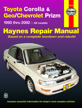 Toyota Corolla & Geo/Chevrolet Prizm (93-02) Haynes Repair Manual