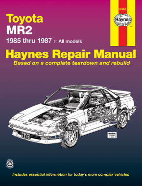 Toyota MR2 (85-87) Haynes Repair Manual