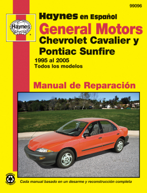 GM: Chevrolet Cavalier & Pontiac Sunfire (95-05) Haynes Repair Manual (edición española)