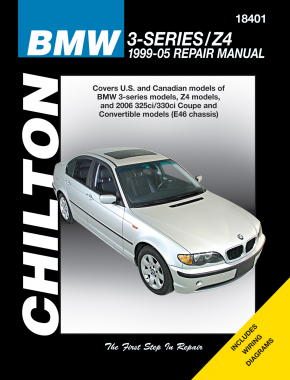 BMW 3 Series & Z4 (1999-05) (Does not include the 318ti, 323is, 328is, Z3 or information specific to M3 or FWD models) Chilton Repair Manual (USA)