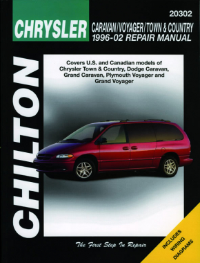 Chrysler Caravan/Voyager/Town&Country (1996-02) (exc. information specific to FWD models) Chilton Repair Manual (USA)