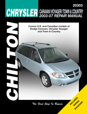 Chrysler Caravan/Voyager/Town & Country (2003-07) (exc. information specific to FWD or diesel models) Chilton Repair Manual (USA)