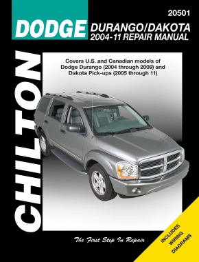 Dodge Durango/Dakota (2004-11) covering most models of Durango (2004-09) & Dakota Pick-Ups (2005-11). exc. Hybrid models. Chilton Repair Manual (USA)