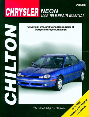 Chrysler Neon (1995-99) for of Dodge & Plymouth Neon Chilton Repair Manual (USA)