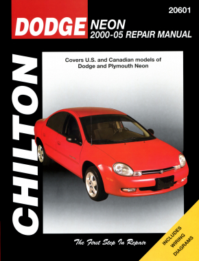 Dodge Neon (2000-05) covering Dodge & Plymouth Neon models (exc. SRT-4 models) Chilton Repair Manual (USA)