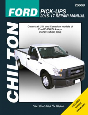 Ford F-150 2WD & 4WD Pick-Ups for 2015-17 Chilton Repair Manual