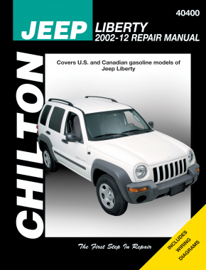 Jeep (2002-12) for Jeep Liberty Chilton Repair Manual (USA)