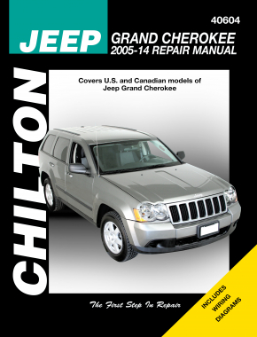 Jeep (2005-14) for of Jeep Grand Cherokee Chilton Repair Manual (USA)