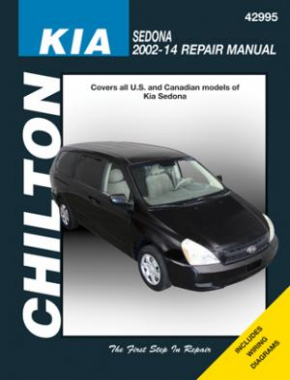 Kia Sedona Chilton Repair Manual for all models from 2002-14